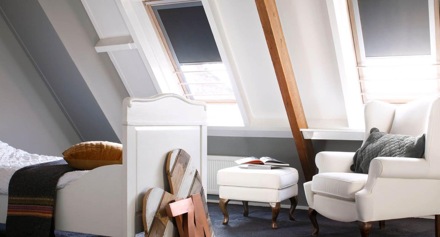 Raamdecoratie voor dakramen beter wonen in overijse