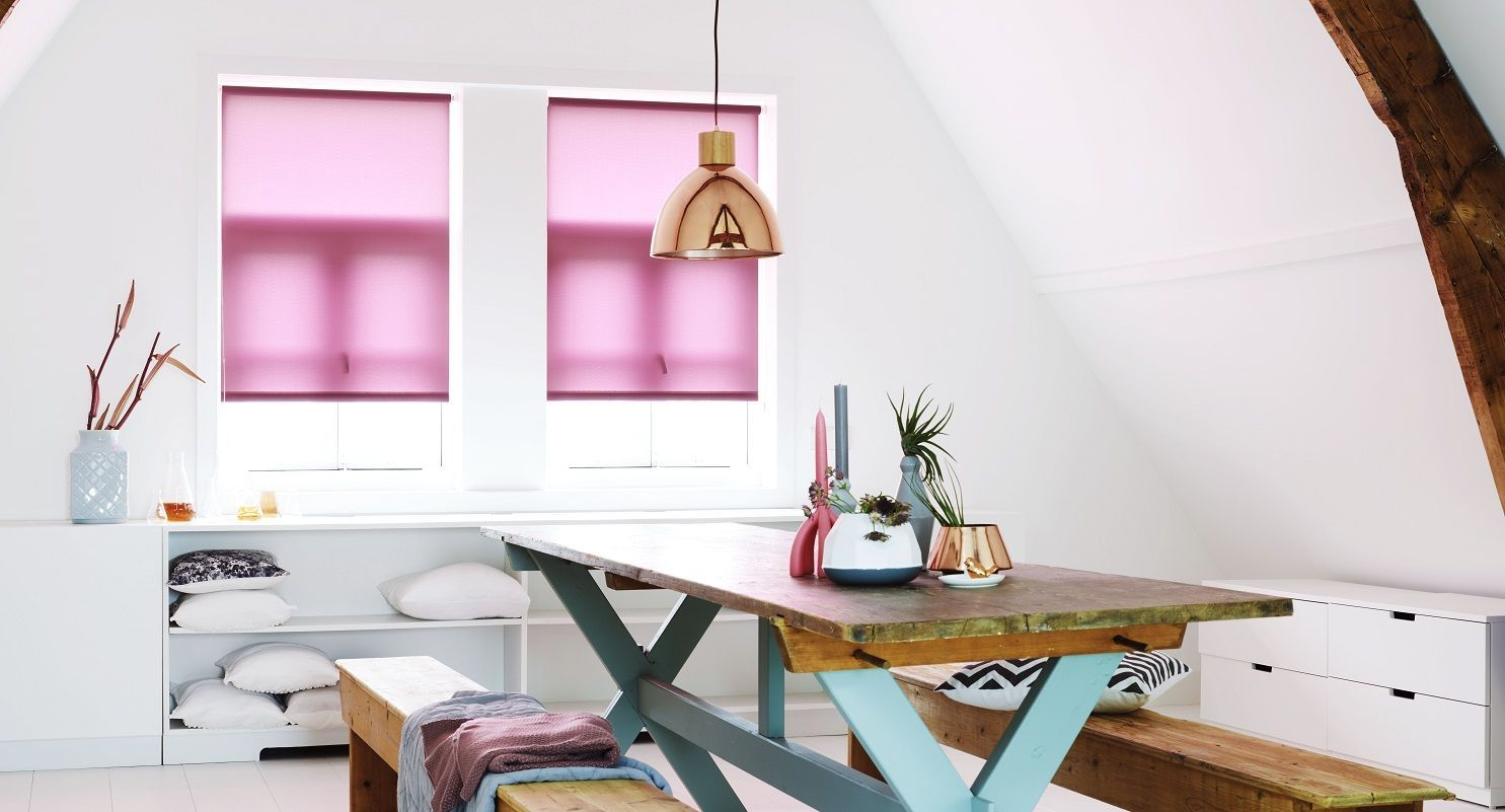 Rolgordijnen Slaapkamer 77 : Raamdecoratie voor de zolderkamer pvw interiors in kortenaken
