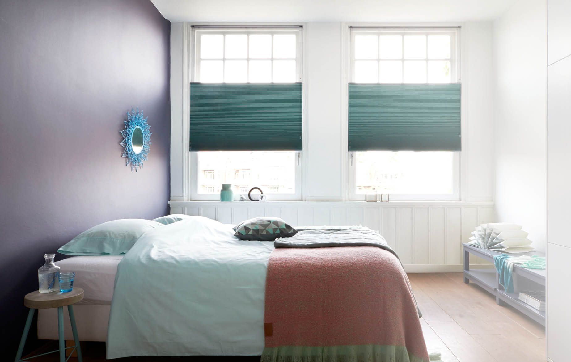 Rolgordijnen Slaapkamer 14 : Raamdecoratie voor de slaapkamer beter wonen in overijse